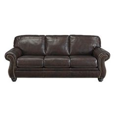 Shop for Signature Design by Ashley Bristan Walnut Sofa. Get free shipping at Overstock.com - Your Online Furniture Outlet Store! Get 5% in rewards with Club O!