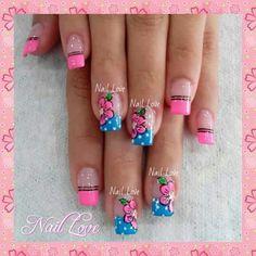Nails Nails Now, Toe Nails, Nail Designs Spring, Nail Art Designs, Fancy Nails, Pretty Nails, Sunflower Nails, Diva Nails, Flower Nail Art