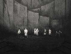 """"""" Das Rheingold """" 2.Bild 1958 Wieland Wagner Bühnenphoto"""