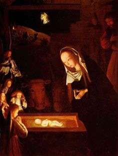 Charles Fonseca: A Natividade. Geertgen.