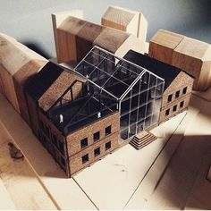 Beautiful work By model. Beautiful work By model. model making Urban Industrial Decor To A Stunning Place Maquette Architecture, Architecture Renovation, Architecture Model Making, Architecture Student, Architecture Drawings, Model Building, Architecture Design, Workshop Architecture, Architecture Diagrams