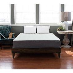 eLuxurySupply North American Platform Mid-century Style Bed