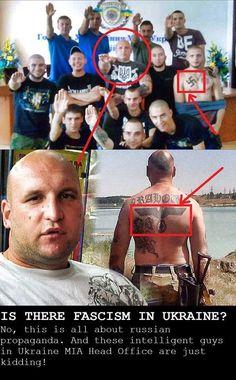 Via Laurent Brayard  Un membre de la police d'#Ukraine, sera-t-il invité à #Bruxelles lui aussi ?