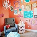 Love this girl room! Great job Melissa!