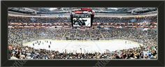 This small Pittsburgh Penguins stadium panoramic, framed to 27 x 9.5 inches. $69.99  @ ArtandMore.com