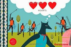 Hearts by Thereza Rowe