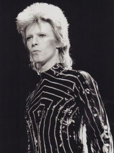 David Bowie- I love how expressive he can be, I think it's beautiful