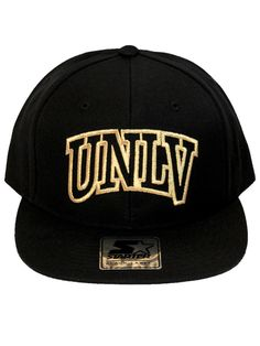 88250ef1145 UNLV Black Metallic Gold Snapback