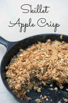 Skillet Apple Crisp and 35+ Cast Iron Skillet Recipes