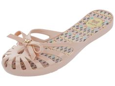 f4c97d2b5 Zaxy Sunday Nude Slip On Flat Jelly Sandals Flip Flops