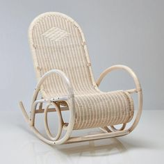 Rocking chair en rotin, Inqaluit La Redoute Interieurs