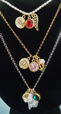 Beaucoup Vintage Sorority Jewelry