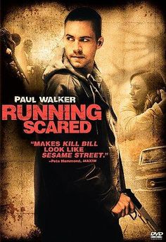 Not the 1986 Billy Crystal-Gregory Himes buddy cop movie of the same name, 2006's RUNNING SCARED is writer/director Wayne Kramer's (THE COOLER) take on the violent gangster crime genre. Paul Walker (T