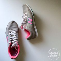 NEW BALANCE 792 pink+grey sneakers NEW BALANCE; 6.5 | great condition | used | soles in great condition | New Balance Shoes Sneakers
