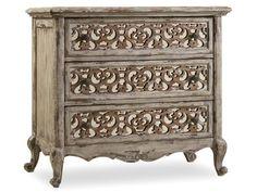 Hooker Furniture Bedroom Chatelet Fretwork Nightstand 5351-90016
