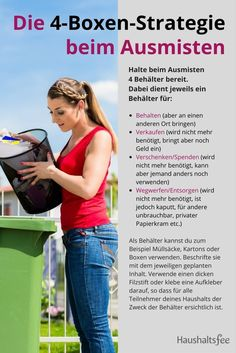 5 Tipps wie du Zeit zum Ausmisten findest After mucking things out of the house. Claudia works with the budgetary strategy. House Cleaning Tips, Spring Cleaning, Cleaning Hacks, Clean Dishwasher, Konmari, Simple Life Hacks, Rubbing Alcohol, Clever Diy, Declutter