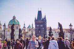 Le Pont Charles de Prague Pont Charles, Week End, Barcelona Cathedral, Travel, Visit Prague, Viajes, Destinations, Traveling, Trips