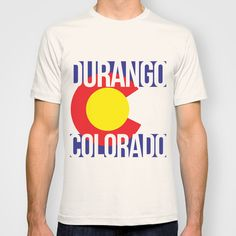 Durango Colorado Tshirt found out Society6.com # DURANGO #COLORADO #COLORADOBORN #COLORADOPRIDE #CO #COPRIDE #TANKTOP #MENSCLOTHING #WOMENSCLOTHING #GRAPHICDESIGN #DESIGN