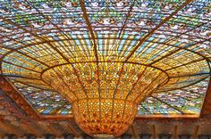 Palau de la Musica Catalana - Barcelona - Barcelona Book