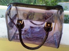 Transparent bag by Pepe Jeans | LUUUX