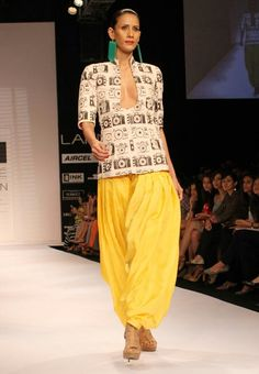 Indo western... so fashionable!
