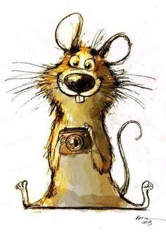 :-☽illustration by Dainius Šukys Art And Illustration, Cute Drawings, Animal Drawings, Drawing Cartoon Animals, Cartoon Fun, Art Fantaisiste, Illustrator, Art Mignon, Inspiration Art