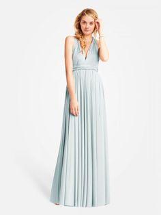 Maxi Convertible Jersey Dress