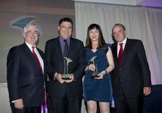 Heneghan PR accept the award for Best Public Affairs Camapaign 2013