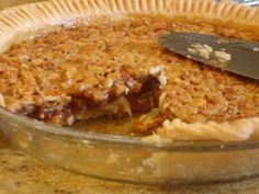 Classic Southern Pecan Pie.