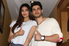 Hero Media Meet With Sooraj And Athiya