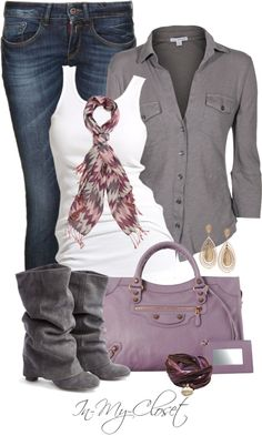 """Casual - #57"" by in-my-closet ❤ liked on Polyvore"