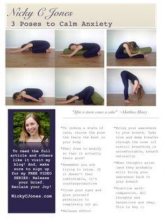 3 Poses to Calm Anxiety   Nicky C Jones