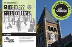 """For the fifth year in a row, UNH was named one of the nation's most sustainable colleges by the Princeton Review. UNH was chosen based on its commitment to sustainability in academic offerings, campus infrastructure, activities, and career preparation. UNH is included in the free downloadable book """"The Princeton Review's Guide to 322 Green Colleges: 2012 Edition."""""""