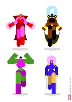 Marvel Iconics Concept; by Bunka
