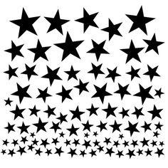 Falling Stars Free Cut File