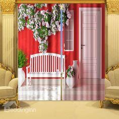 buy colourmatch kids' stripe blackout curtains - 168 x 137cm at