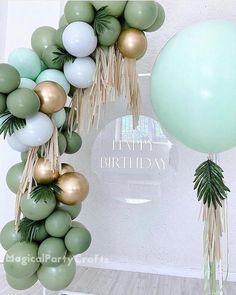 Baby Boy 1st Birthday, Diy Birthday, 1st Birthday Parties, Birthday Ideas, Simple Birthday Decorations, 21st Bday Ideas, Balloon Decorations Party, 21st Birthday Themes, 13th Birthday