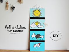 *Starlights in the Kitchen*: [DIY] Wetterstation für Kinder