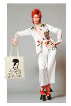 David Bowie tote bag  http://knuffelsalacarteblog.blogspot.nl/