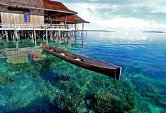 Desa Sawai seram Maluku