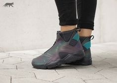 Who's copping the Nike Air Huarache Mid Women's Iridescent? Available now. http://ift.tt/1X6i48e