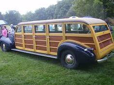 Resultado de imagen para vintage wooden bus