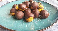 Gezonde chocoladetruffels met pompoen - Charlie's Kitchen
