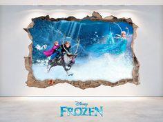 Dale un toque de fantasía a la decoración de tus paredes con nuestra colección de vinilos 3D de Disney ! www.viniloscasa.com