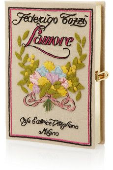 Olympia Le-Tan  L'amore embroidered clutch <3