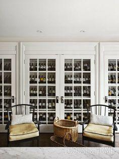 South Shore Decorating Blog - wine storage
