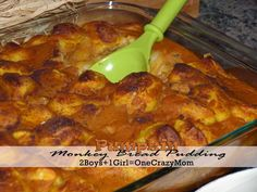 #Pumpkin Monkey Bread Pudding #Recipe