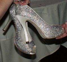My wedding shoes - they were a hit!