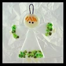 Resultado de imagen para fused glass angels