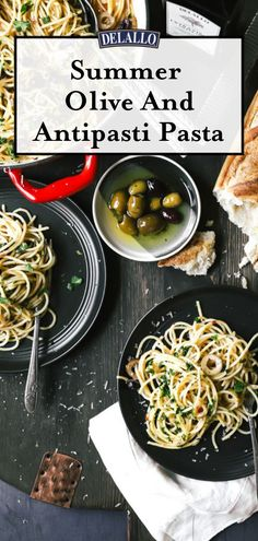 This pasta dish is simple and delicious and is a cross between a Pasta Puttanesca and Pasta Aglio e Olio. Add this recipe to your next dinner meal plan. Olive Recipes, Italian Recipes, Easy Pasta Recipes, Dinner Recipes, Pasta Dishes, Food Dishes, Pasta Aglio E Olio, Pasta Puttanesca, British Dishes